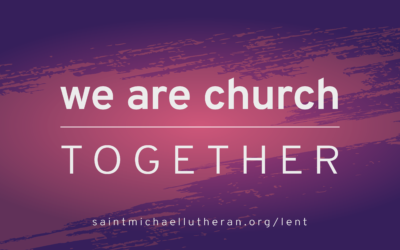 Lenten Devotional: Ash Wednesday, March 6, 2019